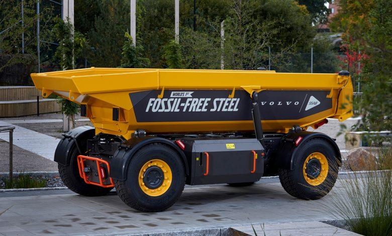 Grupul Volvo a lansat primul vehicul construit din oțel eco
