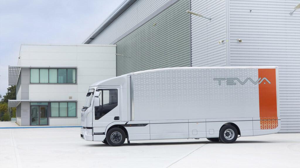 Tevva a prezentat primul camion electric de 7,5 tone dedicat pieței britanice