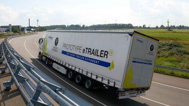Krone și Trailer Dynamics au prezentat prototipul eTrailer